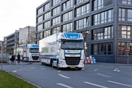 Daf Trucks en NXP testen nieuw platooning-systeem