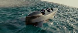 Elektrisch aangedreven duikboot voor twee personen