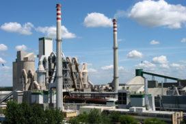 Cement gemaakt van restproduct staalfabrieken