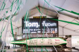 Delftse studenten winnen Hyperloop Pod Competitie