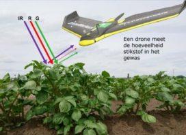 Succesvolle toepassing dronetechnologie in akkerbouw