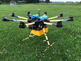 Duurzame drones met waterstoftechnologie