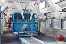 Nieuwe lakstraat DAF België realiseert vijftig procent emissiereductie