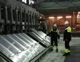Eerste nieuwe ovens in bedrijf bij Aldel