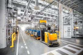 Technologisch is de wereld klaar voor AGV
