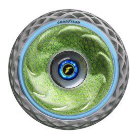 Conceptband van Goodyear zuivert lucht met mos