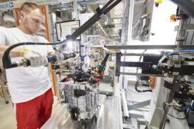 Audi gestart met modulaire serieproductie elektromotoren