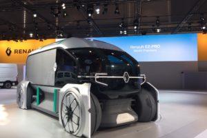 Zelfrijdende conceptcar moet leiden tot nieuwe bezorgscenario's