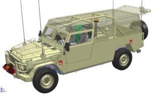 VDL bouwt voor Mercedes-Benz terreinwagens Defensie