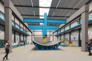 SAM|XL: robotica-fieldlab voor productie grote lichtgewicht constructies