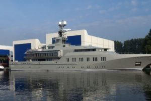 Jachtbouwer Royal Huisman vestigt zich in Amsterdam
