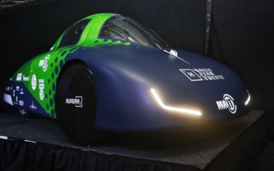 Green Team Twente toont zuinige waterstofauto