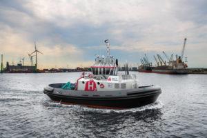 Eerste waterstof aangedreven sleepboot in productie