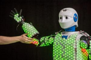 Sensorisch vermogen robots neemt toe dankzij synthetische huid